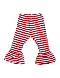 Kirei Sui Baby 圣诞红白色条纹裤