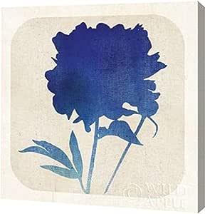 "PrintArt GW-POD-38-25409-30x30""Batik Garden II"" Mousseau Studio Gallery Wrapped Giclee 油画艺术印刷品 20"" x 20"" GW-POD-38-25409-20x20"