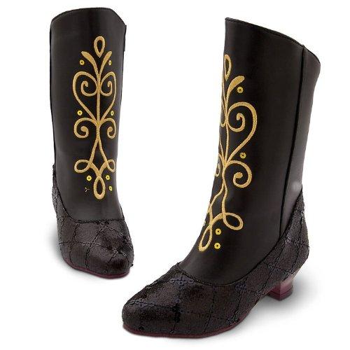 Disney Store * Frozen Anna 女靴 尺码 11-12