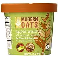 现代燕麦 Apple 核桃燕麦4盎司12支装 gluten 免费出品非转*整粒面皮革 vegan 以及犹太包含 Tree 螺母