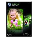 HP Everyday  Fotopaper Glossy ( 210 x 297毫米 ) – 200克 / 平方米 100 Seiten -A4- glänzend 白色