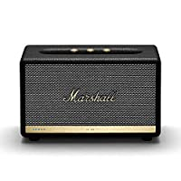 Marshall 马歇尔 Acton II 无线Wi-Fi智能扬声器,多室功能,内置Amazon Alexa,黑色-全新