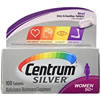 Centrum Silver Multivitamin Supplement 女式 100份 100