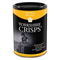 Yorkshire Crisps 天然海鹽薯片 100 克(6件裝)