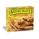 Nature Valley Granola Bars, Crunchy, Roasted Almond, 6 Pouches - 1.5 oz, 2-Bars Per Pouch (Pack of 12)