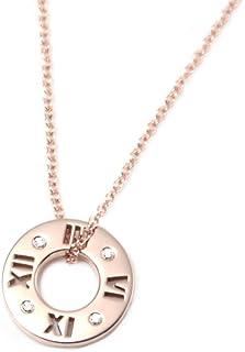 Tiffany & Co 蒂芙尼 鉆石 18KRG 玫瑰金 Atlas系列 吊墜 小型 圓形明亮式切割 30480554