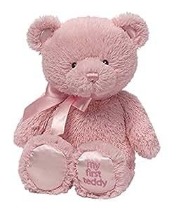 GUND Baby GUND 我的第一次泰迪熊毛绒玩具 粉色 10英寸(25cm)(亚马逊进口直采,美国品牌)