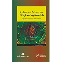 Analysis and Performance of Engineering Materials: Key Research and Development (English Edition)