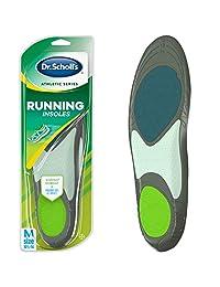 Dr. Scholl's 男士运动系列跑步鞋垫,小号,1 双 男士 大 1