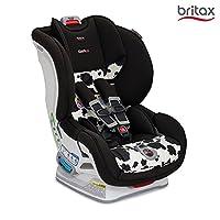 美版Britax 宝得适 MARATHON ClickTight Convertible 儿童安全座椅 奶牛色 适用0-8岁(五点式安全带,安装方式为Click Tight安装系统 7档角度调节,12档高度调节)[跨境自营]包邮包税