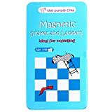 Magnetic Travel Snakes & Ladders - Car Games, Airplane Games and Quiet Games