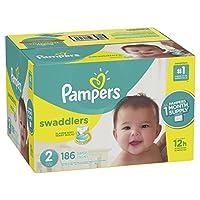 Pampers Swaddlers 一次性纸尿裤 2号 2 186