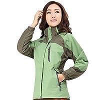 Topsky 远行客 秋冬女款户外防水透气三合一冲锋衣休闲两件套登山 10314