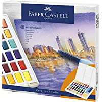 Faber-Castell 水彩颜料 多色 48 38350467