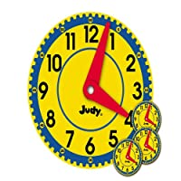 Big Judy(r) Clock Bulletin Board Set