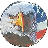 备用轮胎套美国国旗鹰 27-28 英寸