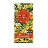 Chocolate & Love 橙子口味65% 黑巧克力&橙子油 80克 14包