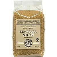 India Tree Demerara Sugar, 1 lb (Pack of 4)