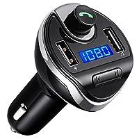 Criacr Bluetooth FM Transmitter 黑色 Upgraded