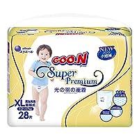 GOO.N 大王 光羽系列 短裤式纸尿裤 尿不湿 XL28片(适合12-17kg )