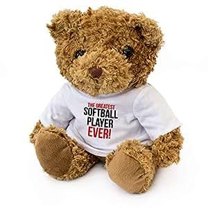 *棒的垒球运动员 — 泰迪熊 — 可爱柔软可爱 — *状礼品礼物 礼物 生日圣诞