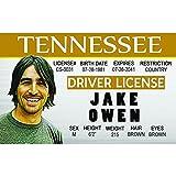 Signs 4 Fun Ncidjo Jake Owen 驾驶证