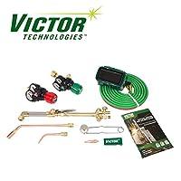 0384-2125 Victor Performer 手电筒套装,带调节器和免费无檐小便帽 0384-2125
