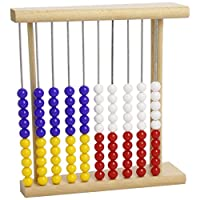 计数框918 – 木质 , 塑料 - 珍珠蓝色 , 黄色 , 红色 , 白色 , 25厘米