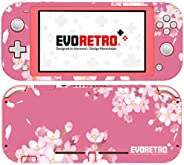 EVORETRO Nintendo Switch Lite 手机套 - 3M 乙烯基全包 Nintendo Switch Lite 手机套,开关配件 - 粉色花卉