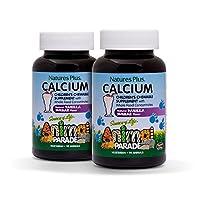 Animal Parade Calcium Nature's Plus 90 咀嚼 90 Count (Pack of 2)