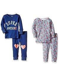 Carter ' s 婴儿女童4件睡衣套装(婴儿)