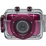 Vivitar DVR781HD 防水动作摄像机带头盔和自行车支架DVR781HD-HPNK 粉红色