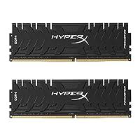 Kingston 金士顿 Technology HyperX Predator黑色16GB套装3000MHz DDR4 CL15 DIMM XMP HX430C15PB3K2 / 16 台式机内存