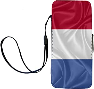 Rikki Knight Clipperton Island Flag Flip Wallet iPhoneCase with Magnetic Flap for iPhone 5/5s - Clipperton Island Flag