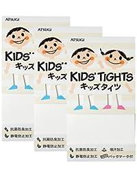 (厚木) ATSUGI 儿童连裤袜 【日本制】 KID'S TIGHTS(儿童连裤袜) 50D 连裤袜〈3双装〉 白色 日本 95~115cm-(日本サイズ100 相当)