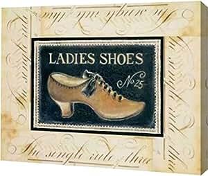 "PrintArt GW-POD-11-POL-066-24x19 ""女式鞋 No. 63.5 cm 由 Kimberly Poloson 画廊装裱艺术微喷油画艺术印刷品 画廊包装艺术微喷油画艺术印刷品 12"" x 9"" GW-POD-11-POL-066-12x9"