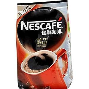 Nestle/雀巢 醇品咖啡500g袋装 纯黑咖啡 速溶咖啡粉