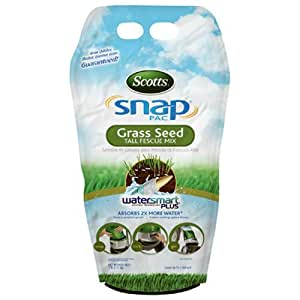 Scotts Snap Pac Tall Fescue Grass Seed