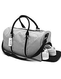 DITD大容量手提旅行包运动健身包防水出差行李包短途旅行袋旅游包男女0087