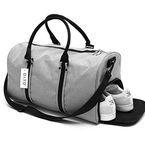 DITD大容量ハンドバッグスポーツフィットネスバッグ防水トラベルバッグ短距離トラベルバッグトラベルバッグ男性と女性0087