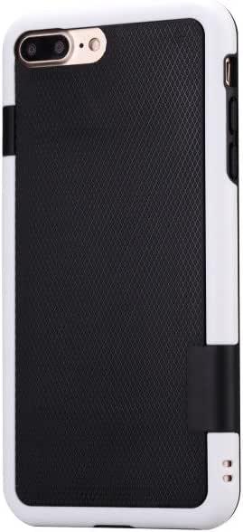 iPhone 6Plus 手机壳 iPhone 6S PLUS 手机壳 jingleer iphone 6plus 2盒混合3色防震坚固保护套软 TPU & 硬质 PC 抗冲击 [ 超前 raised 唇 ] 防滑 COVER 14cm 黑色