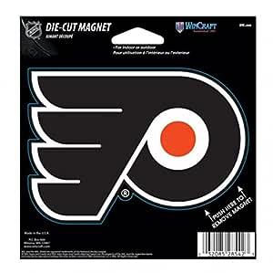 WinCraft NHL Phildelphia Flyers 颜色 4.5 x 6 模切磁铁