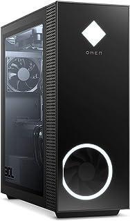HP 惠普 Omen GT13-0011ng 游戏台式电脑(英特尔酷睿 i9-10900F,HyperX XMP 16GB DDR4 内存,1 TB 硬盘,512 GB 固态硬盘,Nvidia GeForce RTX 2080Ti 11GB GDDR6,RGB,Windows 10)黑色带侧窗口