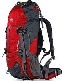 【送防雨罩送腰包】Topsky登山包双肩包旅行包 户外背包旅游透气徒步背包 男女超大容量防泼水减负背包40L50L60L 30621