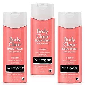 Neutrogena 露得清 Body Clear沐浴露 粉红葡萄柚 8.5盎司(250ml)