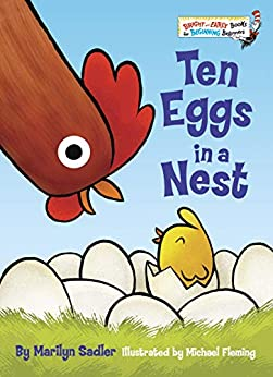 """Ten Eggs in a Nest (Bright & Early Books(R)) (English Edition)"",作者:[Sadler, Marilyn]"