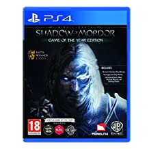 middle-earth : Shadow OF Mordor–GAME OF THE YEAR Edition ( PS4)