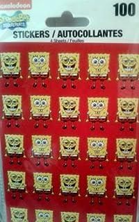 nickelodeon SpongeBob SQUAREPANTS–100贴纸内含