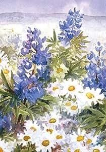 托兰 家居花园野花 31.75 x 45.72 cm 装饰春夏花野外花园旗帜
