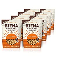 Biena Roasted Chickpea Snacks, Habanero, 5 Ounce, 8 Count